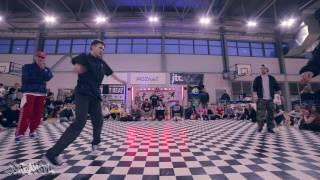 Finał Popping 2vs2 - Alex i Alkowy vs Art of Popping | Big Dance Elite 2017 | WWW.BREAK.PL