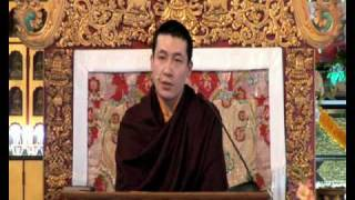 HH Karmapa - The Four Seals of Dharma 1-12.avi