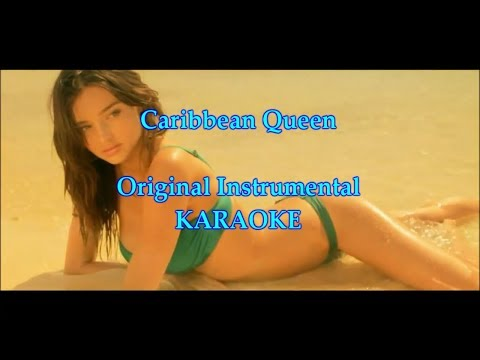 Carribean Queen - Billy Ocean [Original KARAOKE in Full HD]