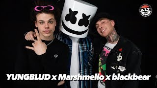 Marshmello x YUNGBLUD x blackbear Talk Tongue Tied, How The Collaboration Came About \u0026 More