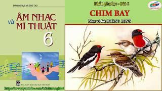 Chim bay (karaoke)   Âm nhạc lớp 6-Phụ lục bài 6