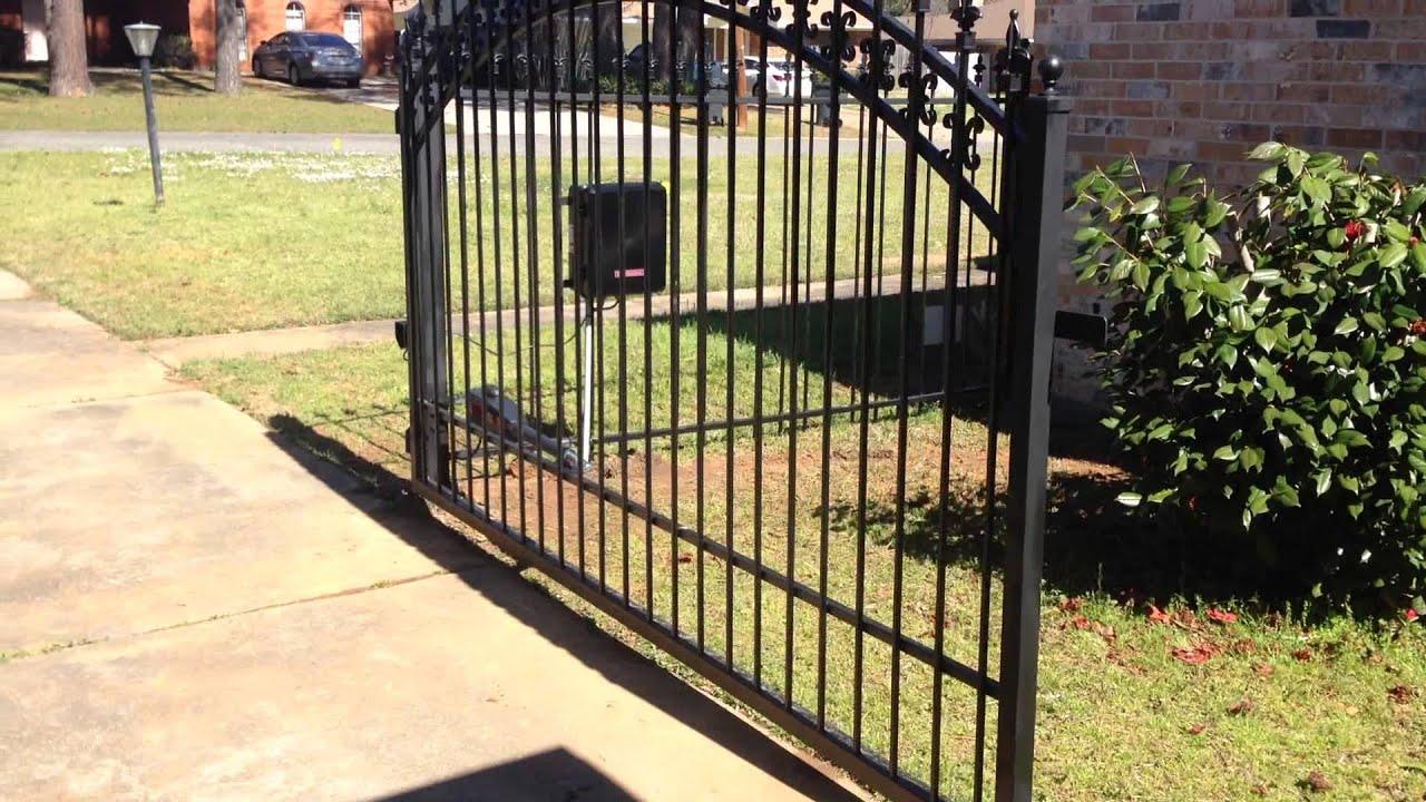 Liftmaster la u wrought iron swing gate ul