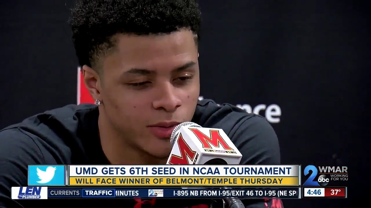 Maryland men's basketball will face Belmont in first round of NCAA tournament