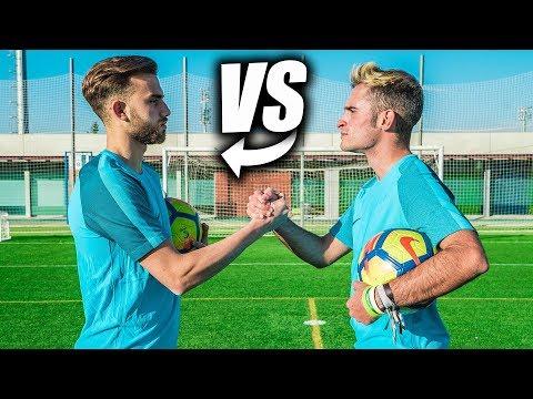 BORJA MAYORAL VS DELANTERO09 - Retos de Fútbol thumbnail
