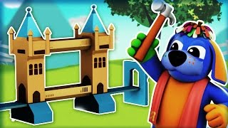 London Bridge Is Falling Down | Nursery Rhymes | Animation Rhymes For Children - RaggsTV