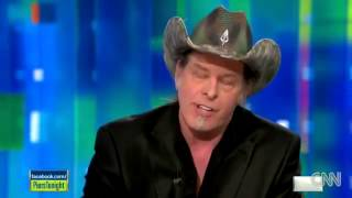 Ted Nugent Speaks out Against Obama and Gun Control