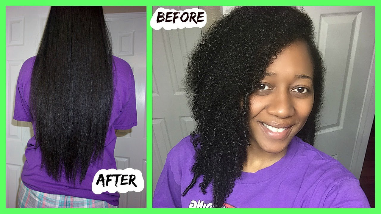 Type 4 Hairstyles: CURLY TO STRAIGHT NATURAL HAIR ROUTINE-TYPE 4 HAIR
