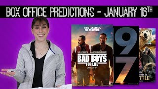 Bad Boys For Life Box Office Predictions