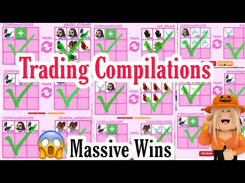 Massive Win/ Roblox Adopt Me Trading Compilations