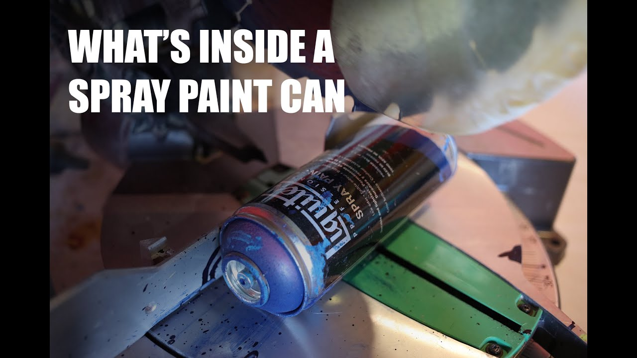 what 39 s inside a spray paint can youtube. Black Bedroom Furniture Sets. Home Design Ideas