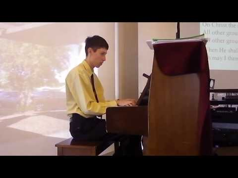 My Hope is Built on Nothing Less (On This Solid Rock I Stand) - Piano and Vocals (Hymn)
