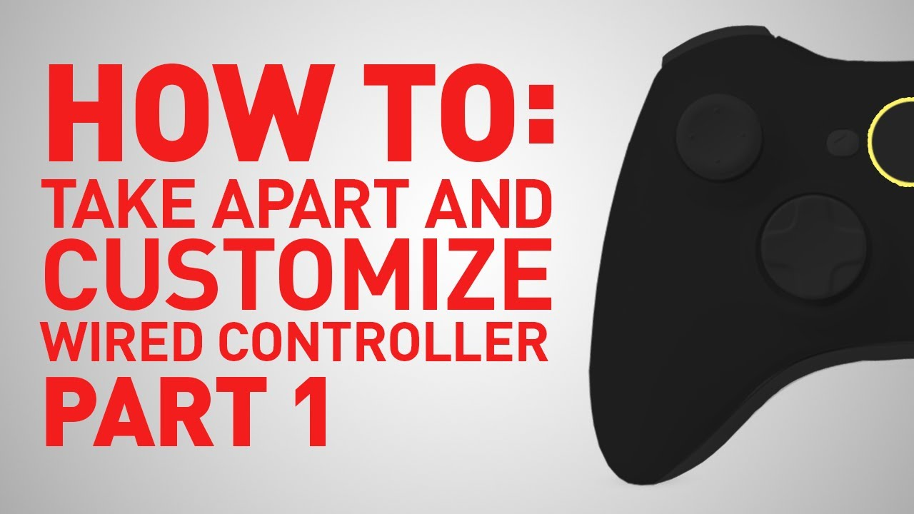 How to build and replace parts on xbox 360 wired controller part how to build and replace parts on xbox 360 wired controller part 1 youtube ccuart Image collections