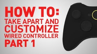 How To: Build And Replace Parts On Xbox 360 Wired Controller - Part 1
