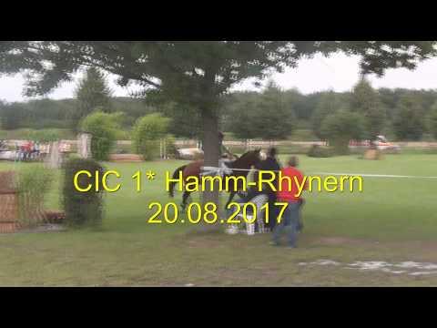 CIC 1* International Hamm-Rhynern 20.08.2017