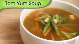 Tom Yum Soup - Easy To Make Homemade Vegetarian Thai Soup Recipe By Ruchi Bharani