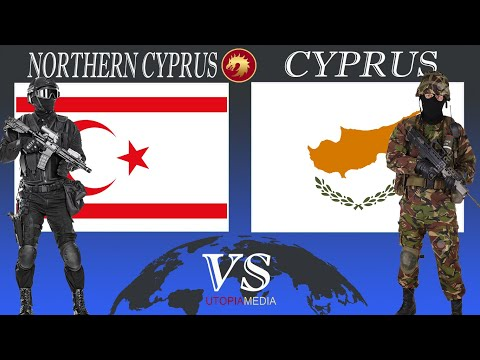 CYPRUS vs NORTHERN CYPRUS military power comparison 2020