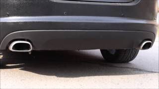 видео тюнинг выхлопа Jaguar
