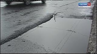 Ямочный ремонт дорог в Петрозаводске идёт с нарушением технологии