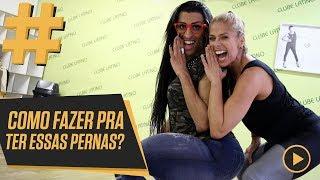 SaÍ da Dança Dos Famosos e Virei Funkeira com Mulher Pepita | Adriane Galisteu