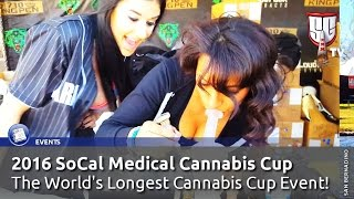 2016 SoCal Medical Cannabis Cup - The World Largest Cannabis Cup - Smokers Guide TV California