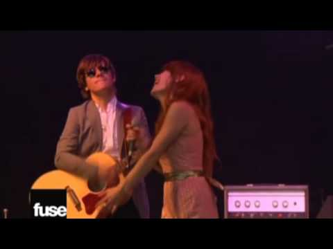 with arms outstretched rilo kiley