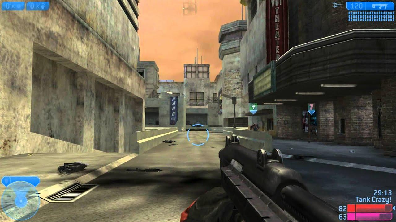 Halo 2 Vista Pc Multiplayer Gameplay Hd 1080p Youtube