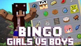 Girls vs Boys | Minecraft | Bingo ft TheOrionSound, SmallishBeans & LDShadowLady