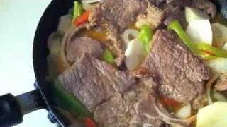 """""""chef Celly Cooks""""  Ecua Style Pepper Steak- Bistec Estillo Ecuatoriano"""