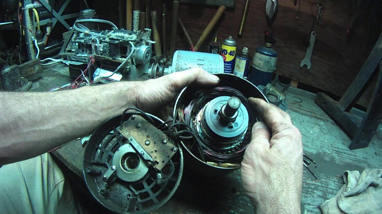 Westinghouse AC Motor Autopsy - YouTubeYouTube
