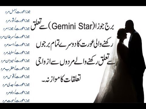 Gemini Women جوزا عورت Marriage And Love Compatibility With Men Related From Others Stars Urdu