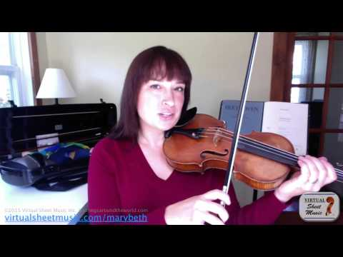 Violin Lesson - How to Make a Beautiful Sound on Violin