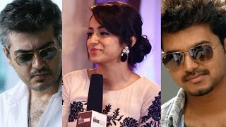 Vijay's action and Ajith's nature for Trisha