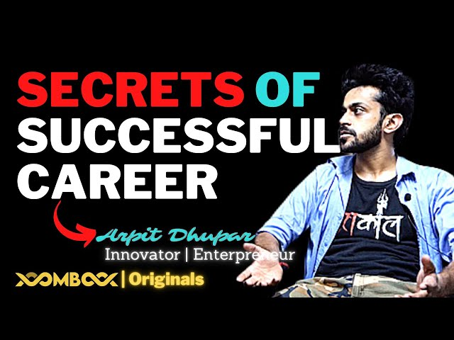 Successful Career & Life Advice for Startup Entrepreneurship and Engineering Career by ARPIT DHUPAR