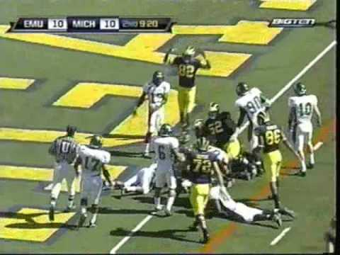 2009: Michigan 45 EMU 17