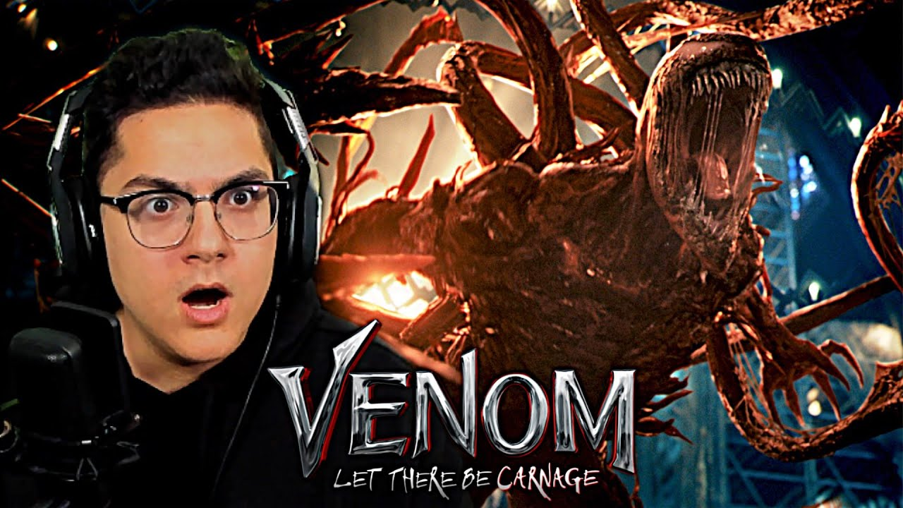 Venom: Let there be Carnage - OFFICIAL TRAILER REACTION!