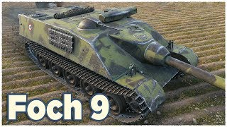 AMX 50 Foch + IDEAL ENEMIES • WoT Gameplay