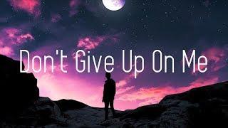Jason Ross - Don't Give Up On Me (Lyrics) ft. Dia Frampton