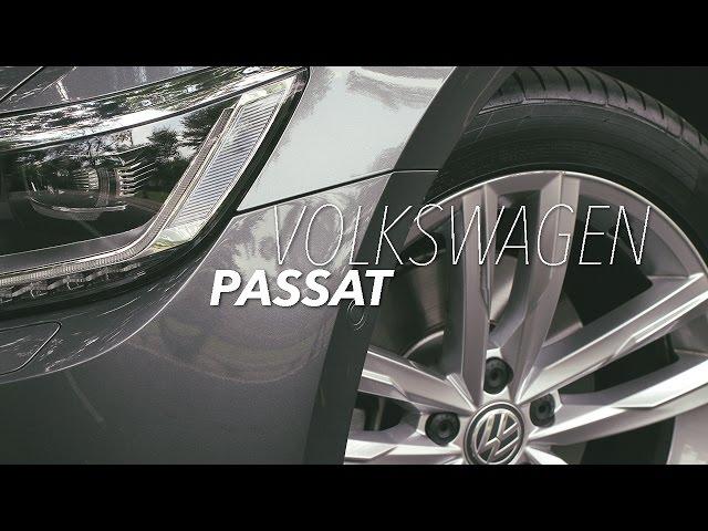 2017 Volkswagen Passat B8 Review with Roda Pusing
