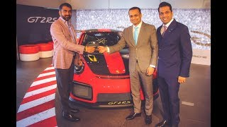 Taking Delivery of the Costliest Porsche in India | Porsche GT2RS