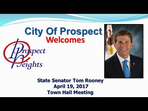 April 19, 2017 Townhall Meeting State Senator Tom Rooney