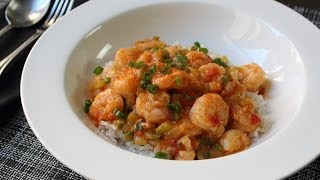 Shrimp Etouffee Recipe - Spicy Creole/cajun Shrimp Sauce On Rice - Frozen Shrimp Tips