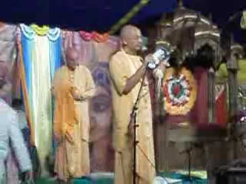Бхакти Вигьяна Госвами о книге про Джаянанду Прабху