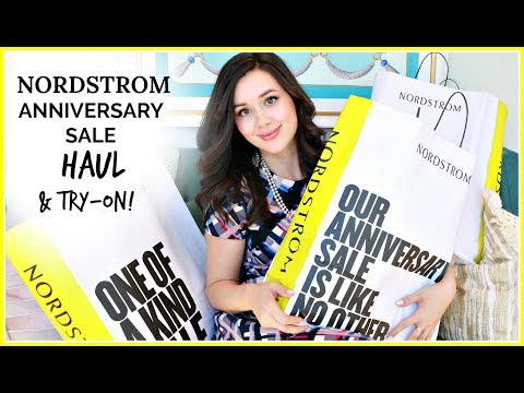 HUGE NORDSTROM ANNIVERSARY SALE HAUL | & TRY-ON!