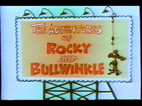 The Adventures of Rocky & Bullwinkle – Intro (1963) Theme (VHS Capture)