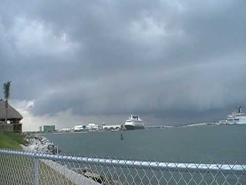 Cape Canaveral Storm Approaching  - May 6, 2010