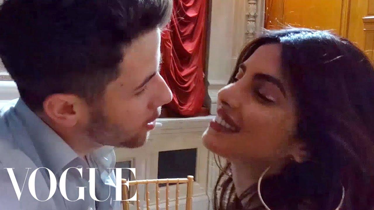 Chair Dance Ritual Song Kitchen Chairs Cheap Priyanka Chopra Dances To Nick Jonas S Close Vogue Youtube