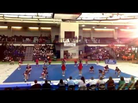 Cheshire High School Cheerleading States 2014