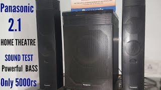 Panasonic HT21 Home Theatre Sound Test/BASS TEST #IN HINDI
