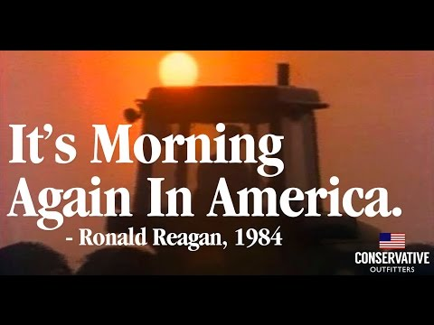 """Morning in America"" Ronald Reagan 1984 Presidential Political Campaign Ad"
