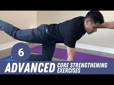 Advanced Core Strengthening Exercises with your Mississauga Chiropractor